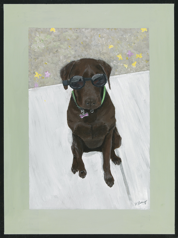 web image of lily by artist heather dunaway